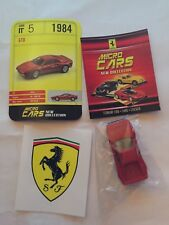 """DIE CAST FERRARI MICRO CARS """" GTO - 1984 """" USCITA N° 5 1/100 KYOSHO"""