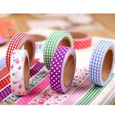 New Design DIY Washi Tape Dot Print Paper Adhesive Sticker Decorative CraftsV#a