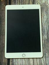 Apple iPad mini 4 16GB, Wi-Fi + Cellular (Unlocked), 7.9in - Gold - Mint Cond