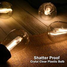 48FT Extendable LED String Lights Waterproof Indoor Outdoor Patio Garden Decor