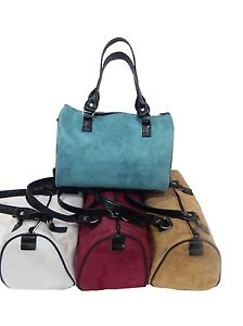 """US HANDMADE DOCTOR BAGS WITH  """"SUEDE """" 50's PATTERN ,  NEW"""