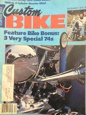 Custom Bike Magazine 3 Special 74s December 1978 122817nonrh