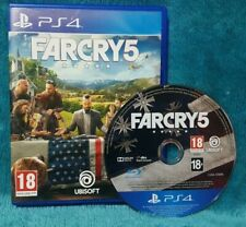 Far Cry 5  Sony PlayStation 4 PS4 Game FREE POSTAGE