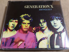 GENERATION X - Anthology 3X CD New Wave / Punk