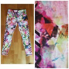 New RBX Active Multicolor Floral Women's L Large Long Yoga Pants Leggings $58