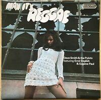 MAN ITS REGGAE 1ST PRESS 1973 UK BOULEVARD VINYL RARE REGGAE LP 4100 EX / EX