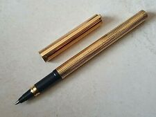Rollerball feutre sfera bic DUPONT CLASSIC Gold / stylo pen penna fullhalter 鋼筆