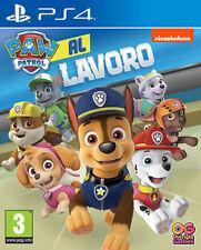 Paw Patrol Al Lavoro PS4 Playstation 4 NAMCO