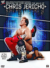 WWE WWF BREAKING THE CODE - BEHIND THE WALLS OF CHRIS JERICHO 3-Disc DVD Set