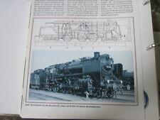 Bahn Lokaufrisse Dampf Personenzug 138 BR 62 Einheitsdlok DRG 1928