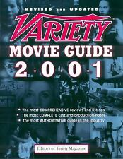 Variety Movie Guide Paperback Magazine Editors Variety