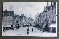 CPA. CHAUMONT. 52 - La Rue de Buxereuilles. 1916. Pharmacie. Pâtisserie.