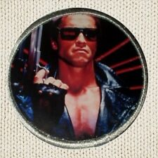 Terminator Patch Picture Embroidered Border T-800 Poster Arnold John Connor