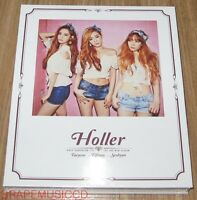 TAETISEO TTS GIRLS' GENERATION Holler 2ND MINI ALBUM CD + FOLDED POSTER SEALED