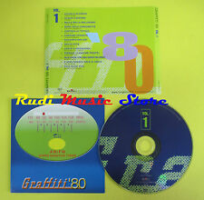 CD GRAFFITI '80 compilation VOL. 1 VASCO ROSSI STADIO DALLA OXA (C11) no lp mc