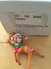 Grolier Disney Christmas Ornament - 26231 120 - Bambi  - Boxed
