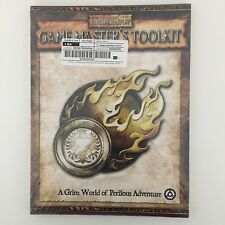 GAME Masters TOOLKIT NUOVO SIGILLATO Warhammer Fantasy Roleplay WFRP Nero Industries