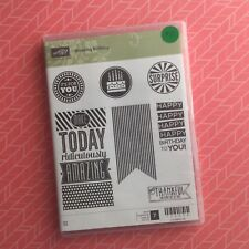 Stampin' Up!® Retired Amazing Birthday Clear Set Of 7
