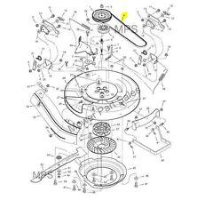 "Cutter Belt 30"" Deck Murray & Hayter Heritage 13/30  37x74 MU37x74 From 1992"