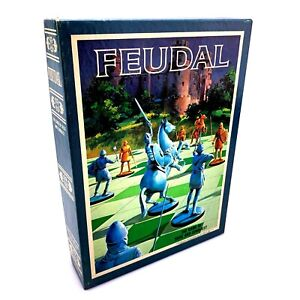 FEUDAL - The Game of Siege and Conquest Board Game | Vintage 1976 | Complete