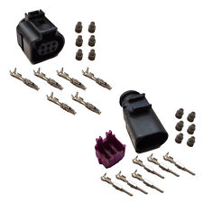 Stecker 6-polig Reparatursatz für VW 1J0973713 3B0973813 Steckverbindung Crimp