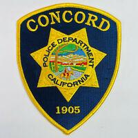Concord Police Contra Costa County California CA Patch (C4)