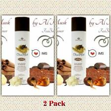 2 Pack Choco Musk air freshener by Al Rehab 300ML milk chocolate,vanillacinnamon
