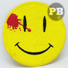 #171 Watchmen DEAD SMILEY FACE PATCH - BULLET HOLE SMILE sew/iron on patch