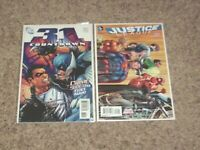 COUNTDOWN TO FINAL CRISIS # 31 + JUSTICE LEAGUE (2011) # 50 1st THREE JOKERS NM-