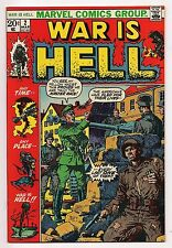 Bronze Age Marvel WAR IS HELL #2 1973 NM/NM+ High Grade Original Owner