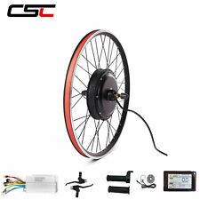 "ebike Conversion Kit Cycling Motor 48V 1500W 20"" 26"" 29"" 700C E Bike Motor"