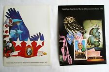 US Stamps 1977 & 1978 Commemorative Stamp Collection Books New with Stamps MNH