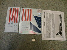 Flightpath decals 1/100 FP10-02 US Air 767-200    N59