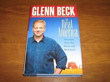 The Real America: Messages from the Heart and Heartland by Glenn Beck 2003 HCwDJ