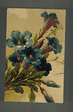 1917 Russia Real Picture Postcard Cover Flowers