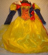 Deluxe Snow White Costume 3pc Princess Dress-Forum- Girls- Small  4-6