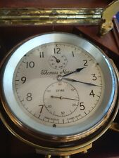 RARE Thomas Mercer Marine Chronometer Ship Clock Working _178