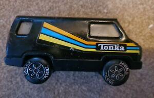 VINTAGE TONKA BLACK VAN 1979