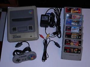 Super Nintendo pal + 7 cartucce - tutto funzionante!!!