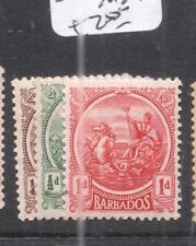 Barbados SG 217/20 MOG (8dni)