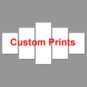 Customized Multi Size Prints 5 piece HD Art Poster Wall Home Decor Canvas Print
