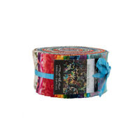 "Moda jelly roll Bahama Batiks 40 strips 2½"" x 44"" 100% cotton 4352JR"