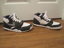 Classic 2003 Used Worn Size 12 Nike Trainer 1 Python Shoes White Gray Anthracite