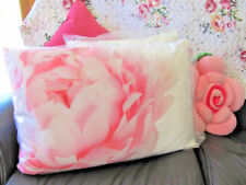 Divine Peony  Rose Rectangle Scatter Cushion ~ Pillow ~ Bed ~Throw  ~ Home Decor