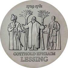 DDR 20 Mark Silber 1979 Stempelglanz Gotthold Ephraim Lessing in Münzkapsel