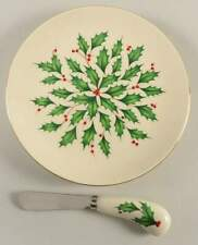 Lenox Holiday Cheese Plate & Knife Set 11107918