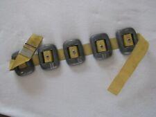 Vintage 31.4 Lbs. Scuba Belt With Five Weights Aqua Craft