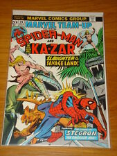 MARVEL TEAM UP #19 NEAR MINT CONDITION SPIDERMAN 1ST APP STEGRON MARCH 1974