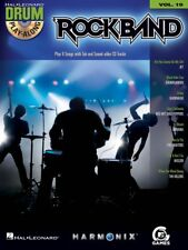 Rock Band Drum Play-Along Book and CD NEW 000700707