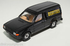 CORGI TOYS FORD ESCORT 55 VAN BEATTIES BLACK NEAR MINT CONDITION
